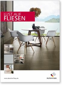 """Titelbbild des Magazins """"Lust auf Fliesen"""""""