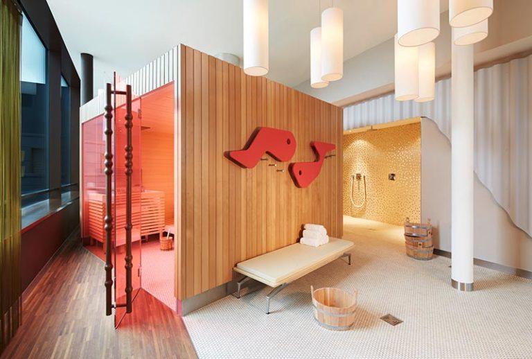 Sauna 25hours Hotel