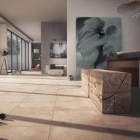 Bodenfliesen im Großformat sorgen für repräsentative Wohnstil