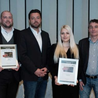 """Fliesenserie """"Savona"""" von Agrob Buchtal und """"Double Impact"""" von Engers erhalten Auszeichnung """"Produkte des Jahres"""" 2017"""