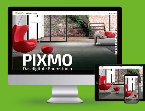 """Moderne Fliesenausstellung – digitale VisualisierungMitgliedsunternehmen des Bundesverbands stellen dem Fachhandel ihr Sortiment im digitalen Raumstudio """"PIXMO"""" bereit"""