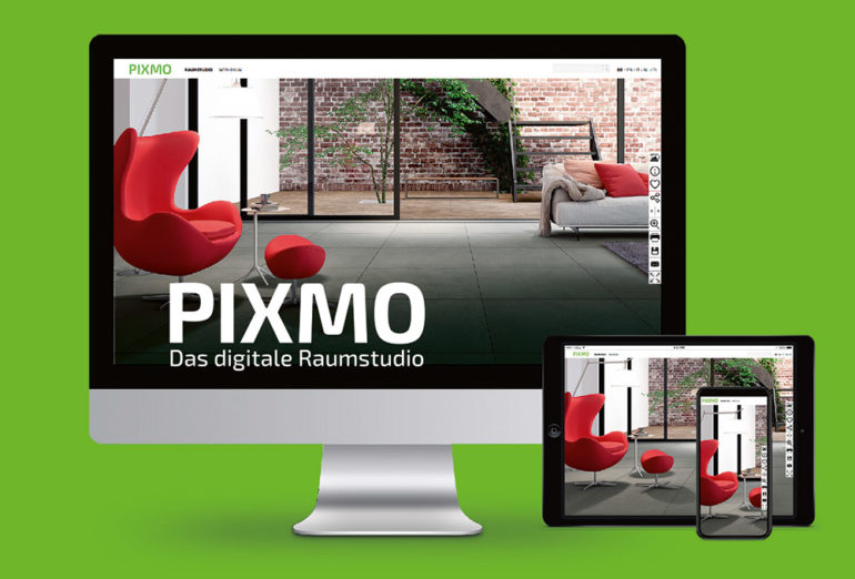 Screenshot Pixmo Raumstudio