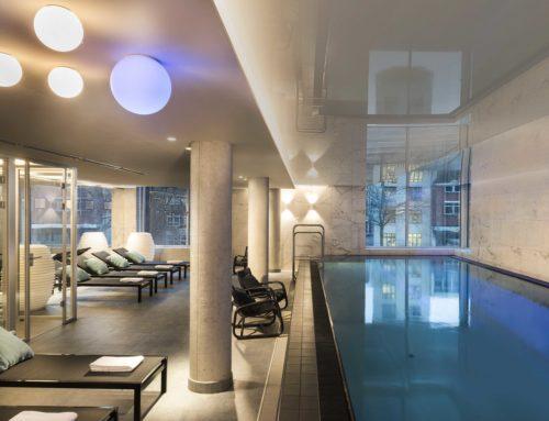 Adina Apartment Hotel Hamburg SpeicherstadtHochwertige Innenarchitektur mit V&B Fliesen –  von der Lobby über den Pool bis in die Appartements