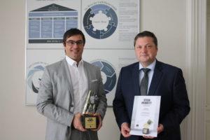 Der deutsche Fliesenhersteller Villeroy & Boch Fliesen wurde mit dem Stein im Brett Award ausgezeichnet