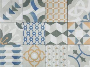 """Die Fliesenkollektion """"Pattern"""" passt perfekt zum Ethno-Look und Country-Style"""
