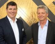 Peter Wilson und Jens Fellhauer vom Bundesverband Keramische Fliesen