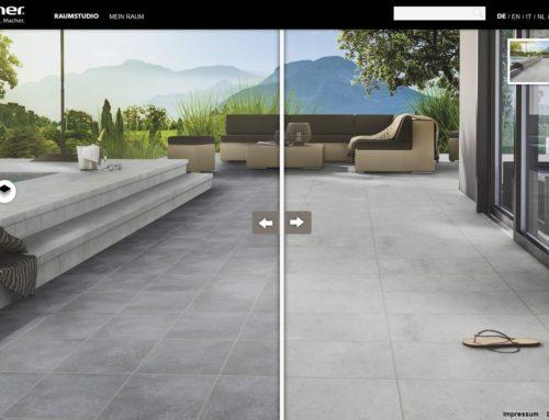 Inspiration für Bauherren, Planer und ArchitektenStröher-Gruppe stellt digitale Tools zur Fliesen- und Klinker-Visualisierung vor