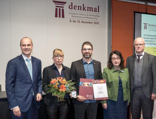 Denkmalpflege in EuropaZahna-Fliesen erhält Goldmedaille für herausragende Leistungen