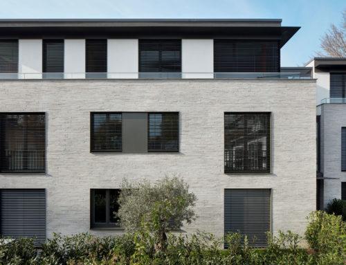 Keramische FassadenBauhaustradition und Klinkerriemchen fusionieren zu exklusiv-nachhaltiger Wohnarchitektur