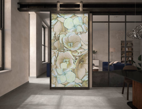 Villeroy & Boch Fliesen Neuheiten 2020Natur trifft Kunst – ROCKYART: Natürliche Steinoptik mit abstrakt-floraler Dekoration
